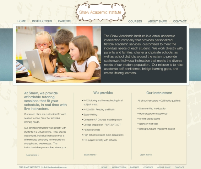 shaw_homepage_preview